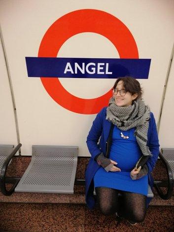 angel metro underground chezlorette belgianblogueur entre blogueurs