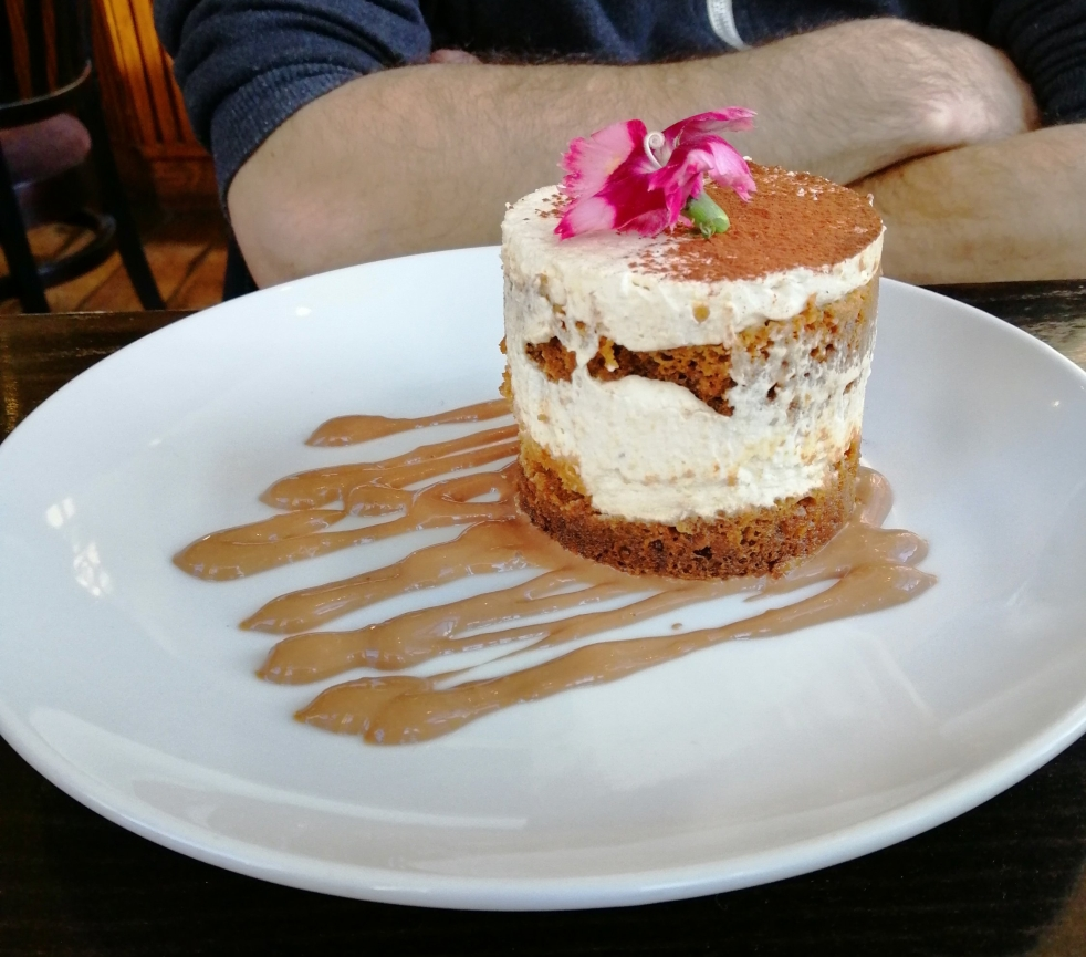 tiramisu the gate london londres vegan chezlorette restaurant resto islington